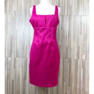 Calvin Klein | Cute Pink Sleeveless Sheath Dress 8
